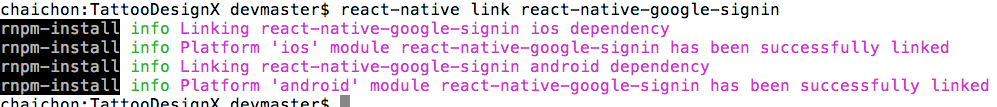 link-react-native-google-signin